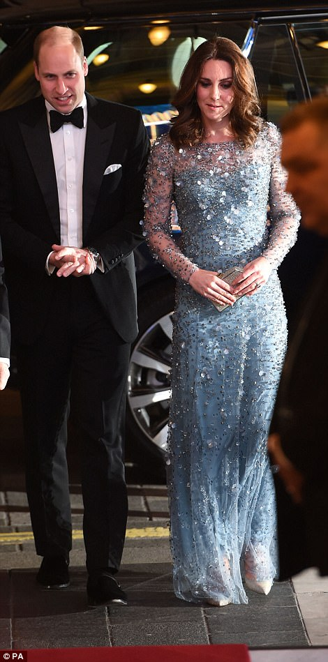 The couple last attended the event in 2014 when Kate, who was then pregnant with Princess Charlotte, showed off her burgeoning bump