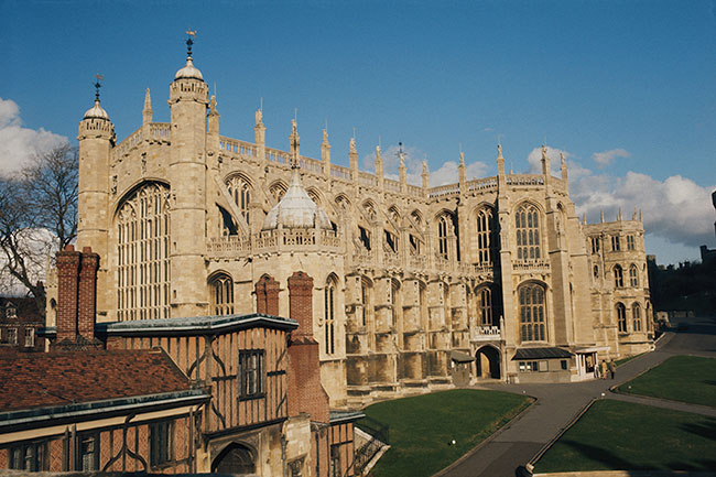 The couple will say I do at St George's Chapel Photo (C) GETTY