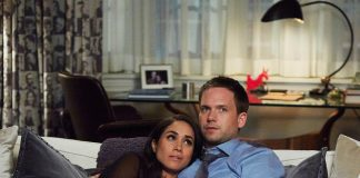 The hit legal drama's leading stars Patrick J. Adams and Meghan Markle are both set to leave Suits when season seven ends. Photo (C) GETTY