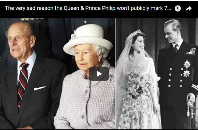The very sad reason the Queen Prince Philip wont publicly mark 70th wedding anniversary