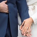 They will marry next year as the world glimpsed the American actress engagement ring designed by Harry himself