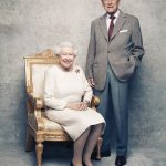 Today marks the Queen and the Duke of Edinburghs platinum anniversary with these portraits released on Sunday to mark the occasion