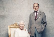 Today mark's the Queen and the Duke of Edinburgh's platinum anniversary, with these portraits released on Sunday to mark the occasion
