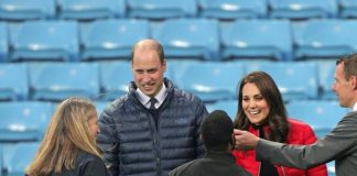 WILLS' HOME The Prince is a big Aston Villa fan – so obviously enjoys any visit to Villa Park