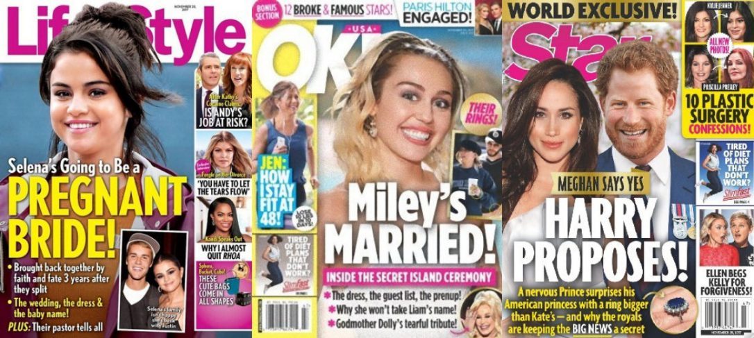 Wedding bells for Justin Selena Harry Meghan Miley and Liam Photo C LIFE AND STYLE