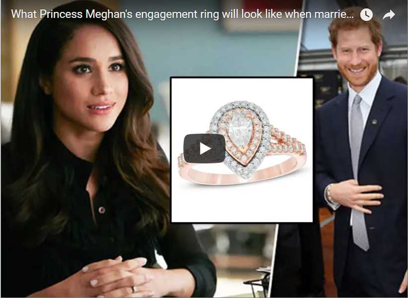 What Princess Meghans engagement ring will look like when married to Prince Harry