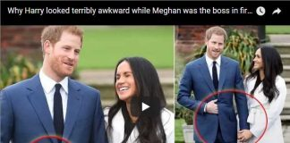 Why Harry looked terribly awkward while Meghan was the boss in first appearance
