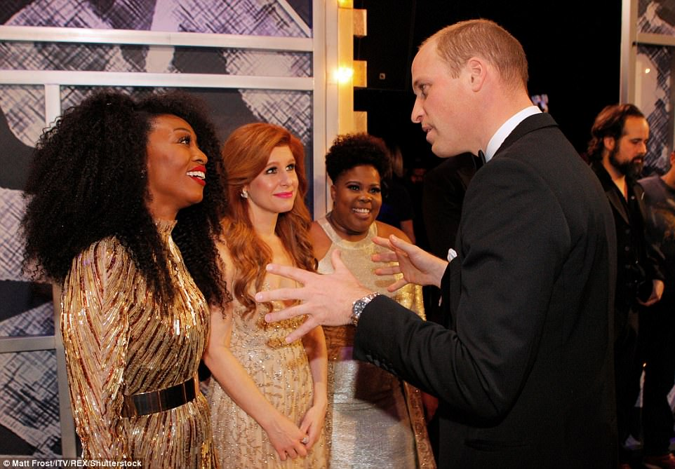 Will chats to Beverley Knight, Cassidy Janson and Amber Riley at the 105th Royal Variety Show