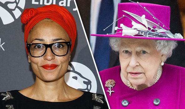 Zadie Smith has launched an attack on the monarch Photo (C) GETTY