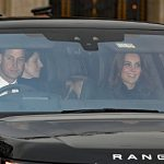 03 The Duke and Duchess of Cambridge arrive for the Queens annual Christmas lunch Photo C GETTY IMAGES