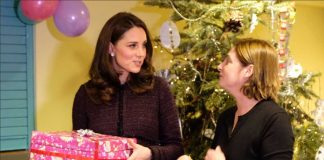 Today, The Duchess of Cambridge is joining families to celebrate the work of the @RugbyPortobello Trust in North Kensington. Photo (C) KENSINGTON PALACE TWITTER