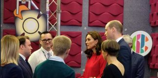 At the Stepping Out session, The Duke & Duchess take part in a Q&A with a young person - Josh, who featured in a Newsround special telling his story . Photo (C) KENSINGTON TWITTER