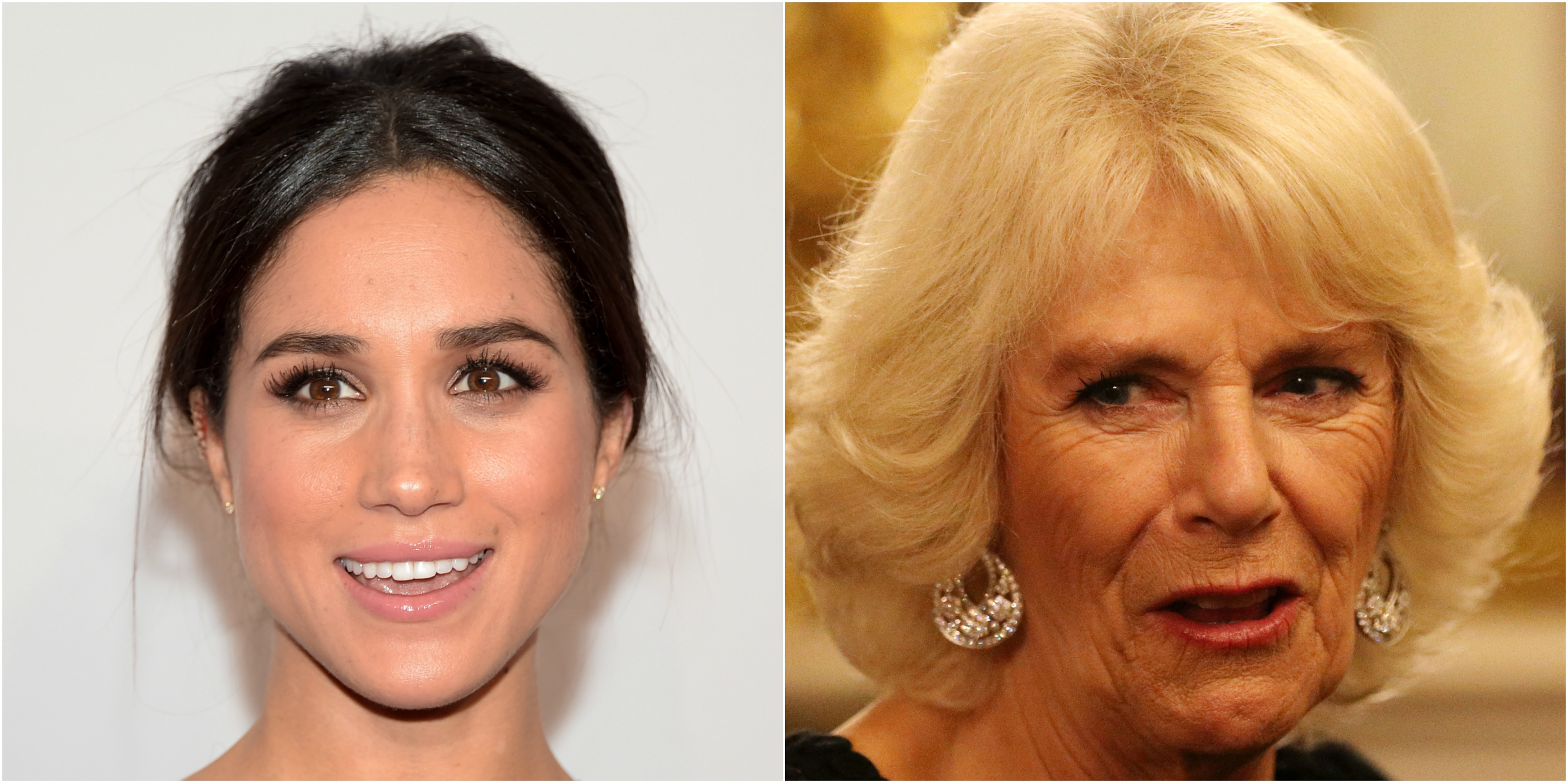 5 Camilla Duchess of Cornwall and Meghan Markle Photo C GETTY