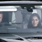 1 Meghan Markle going with Prince Harry to attend Queen Elizabeth II Buckingham Palace Photo C GETTY IMAGES