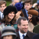1 Merry Christmas The Duke and Duchess of Cambridge Prince Harry and Ms. Meghan Markle have joined members of the Royal Family for the Morning Service on Christmas Day in Sandringham