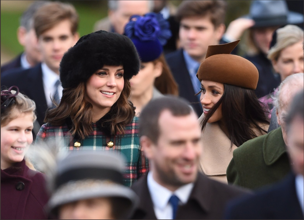 Merry Christmas! The Duke and Duchess of Cambridge, Prince Harry and Ms. Meghan Markle have joined members of the Royal Family for the Morning Service on Christmas Day in Sandringham Photo (C) KENSINGTONPALACE TWITTERMerry Christmas! The Duke and Duchess of Cambridge, Prince Harry and Ms. Meghan Markle have joined members of the Royal Family for the Morning Service on Christmas Day in Sandringham Photo (C) KENSINGTONPALACE TWITTER