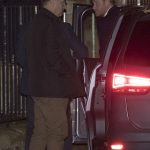 1 attending is her newly engaged ex boyfriend Prince Harry who arrived discreetly at St Lukes church in Chelsea