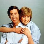 1981 Surprisingly the portrait taken of Prince Charles and Diana Spencer is the most affectionate in the list.