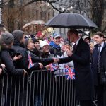 2 The Duke was greeted by the Helsinki crowds at Esplanade Park many were waving flags for StAndrewsDay. RoyalVisitFinland Photo C KENSINGTON PALACE TWITTER