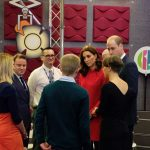 3 At the Stepping Out session The Duke Duchess take part in a QA with a young person Josh who featured in a Newsround special telling his story . Photo C KENSINGTON TWITTER