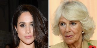 Camilla Duchess of Cornwall and Meghan Markle Photo (C) GETTY