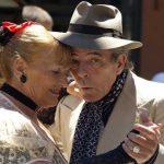 A couple dancing the Tango