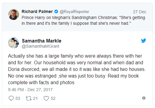 Actually she has a large family who were always there with her and for her Photo (C) TWITTER