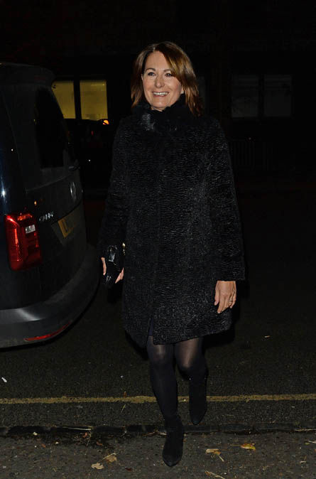 Also in attendance this evening was Carole Middleton Photo (C) CONSAlso in attendance this evening was Carole Middleton Photo (C) CONSTANT MEDIATANT MEDIA