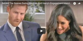 Behind The Scenes During Meghan And Harrys Engagement Interview