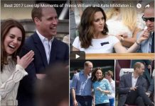 Best 2017 Love Up Moments of Prince William and Kate Middleton in 2017