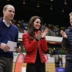 CLAP One of Williams events was for Heads Together with the Duchess of Cambridge and Harry Photo C PA