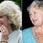 Camilla Parker Bowles Engagement ring from Prince Charles belonged to the Queen Mother Photo C GETTY