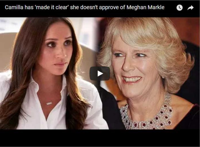 Camilla has 'made it clear' she doesn't approve of Meghan Markle