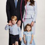 Christmas Card Duke and Duchess of Cambridge Photo C PA 1