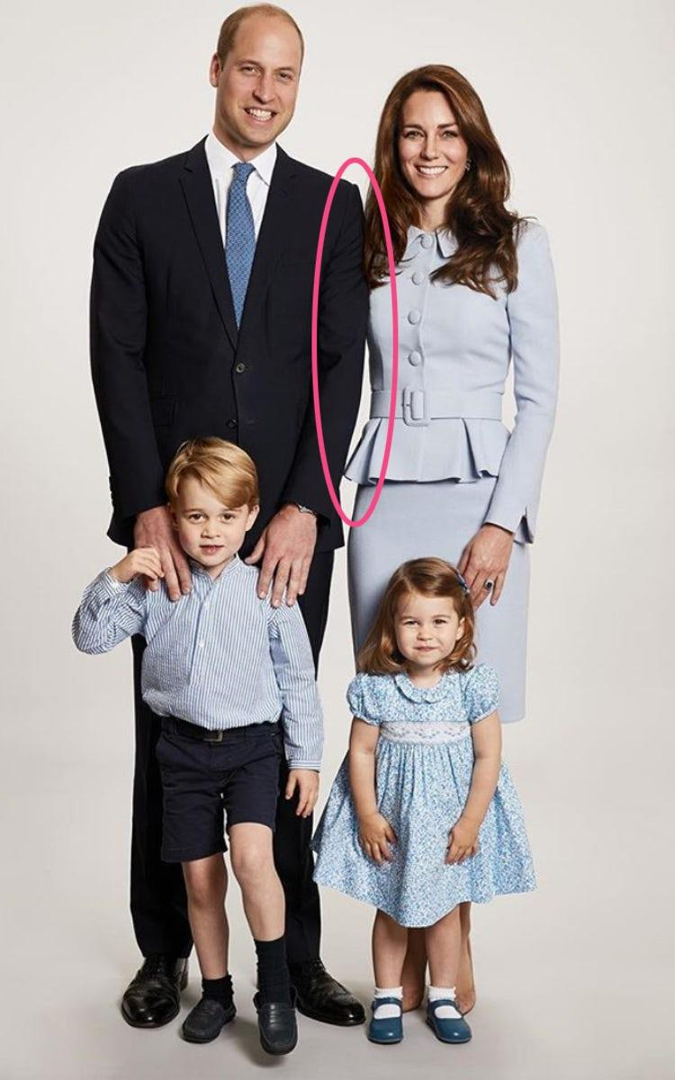 Christmas Card Duke and Duchess of Cambridge Photo (C) PA
