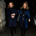 Cressida Bonas attended the Henry Van Straubenzee Memorial Fund carol concert accompanied by her mother Mary Gaye Curzon on Tuesday evening