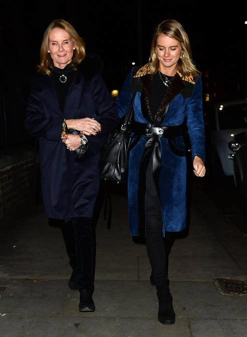Cressida Bonas showed she had no hard feelings for her former flame Photo (C) CONSTANT MEDIA