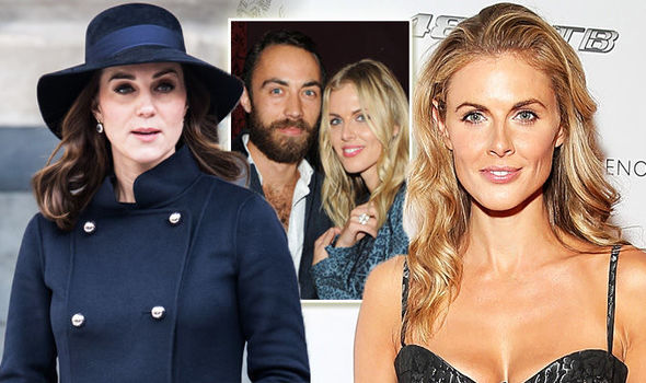 Donna Air Donna 38 has been pictured with the other Middleton sibling Pippa Photo C GETTY