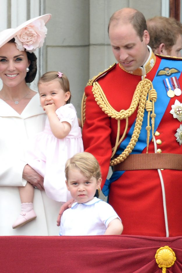 Princess Charlotte is worth a massive billion fortune for the British economy Getty