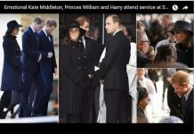 Emotional Kate Middleton, Princes William and Harry attend service atEmotional Kate Middleton, Princes William and Harry attend service at St Paul's St Paul's