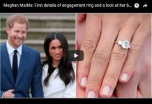 First details of engagement ring and a look at her background