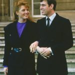 How did Prince Andrew and Sarah Ferguson meet The couple announced their engagement in 1986 Photo C GETTY