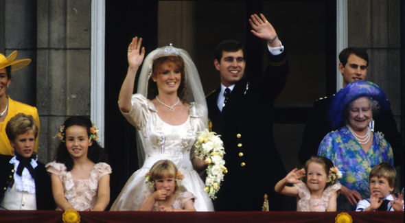 How did Prince Andrew and Sarah Ferguson meet Their wedding was watched by thousands Photo (C) GETTY IMAGES