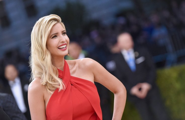 Ivanka Trump attends the 'Manus x Machina Fashion In An Age Of Technology' Costume Institute Gala - File photo Getty