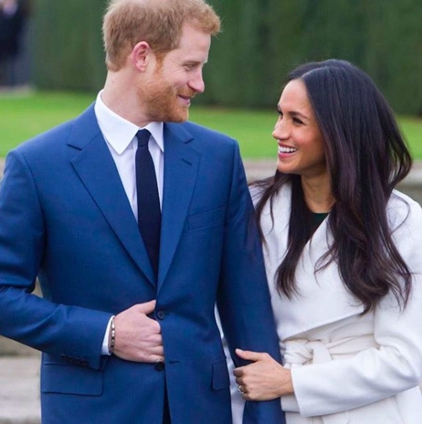 Just six short days after Prince Harry and Meghan Markle announced they'd be getting engaged exciting details of their wedding is starting to emerge Photo C KENSINGTON PALACE TWITTER