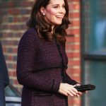 Kate Middleton Duchess had a distinct rosiness to her cheeks likely due to the cold weather Photo C JOHN RAINFORD WENN