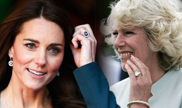 Kate Middleton Ring was originally bought for Lady Diana Spencer in 1981, and cost an eye-watering Photo (C) GETTY
