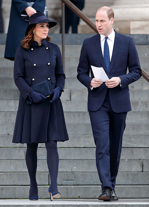 Kate is the royal with the fewest UK duties in her diary Photo (C) GETTY