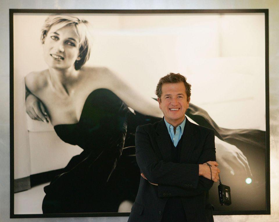 Mario Testino and Princess Diana Photo (C) GETTY