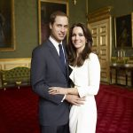 Meanwhile the the Duchess of Cambridge opted for a dress from high street retailer Reiss as she and William posed in the Council Champer